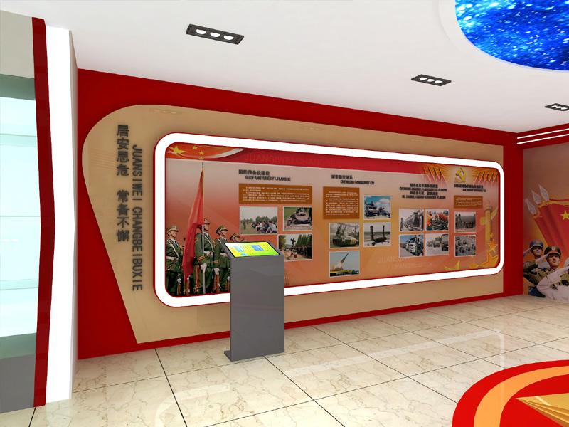 江阴广告制作_展厅展馆设计_宜兴市国防教育馆 - 江阴